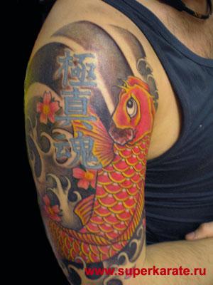 Михаил фесенко татуировка в стиле