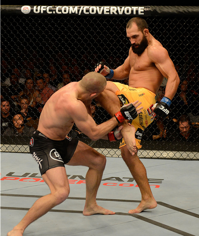 UFC 167 / Photo by Donald Miralle/Zuffa LLC/Zuffa LLC via Getty Images