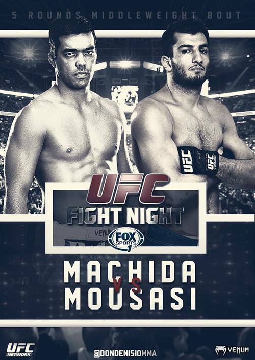 UFC Fight Night 36 - Machida vs Mousasi
