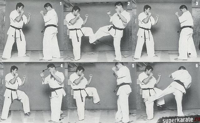 Хироки Куросава - сильнейший лоу-кик киокушина
