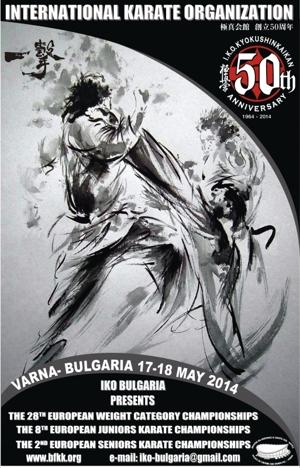 Чемпионат Европы по киокушинкай (IKO)