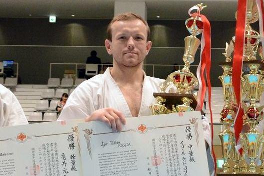 Игорь Титков Чемпион Японии