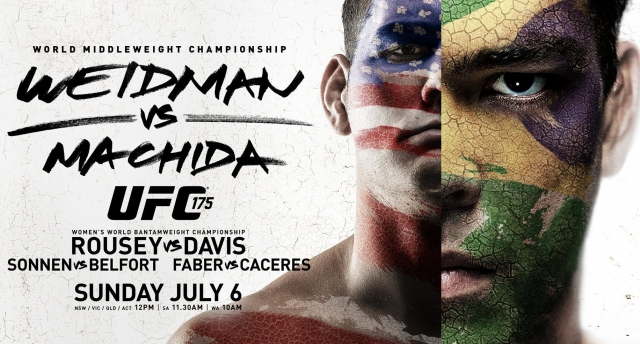 Результаты UFC 175: Weidman vs. Machida