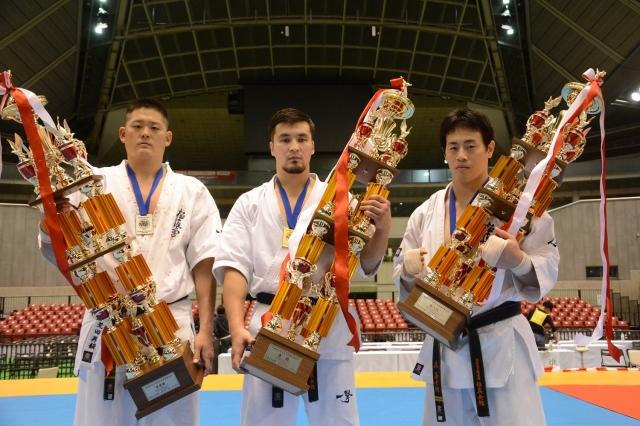 Призеры 46 Чемпионата Японии по киокушинкай каратэ