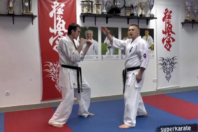 Урок каратэ от Алексея Горохова