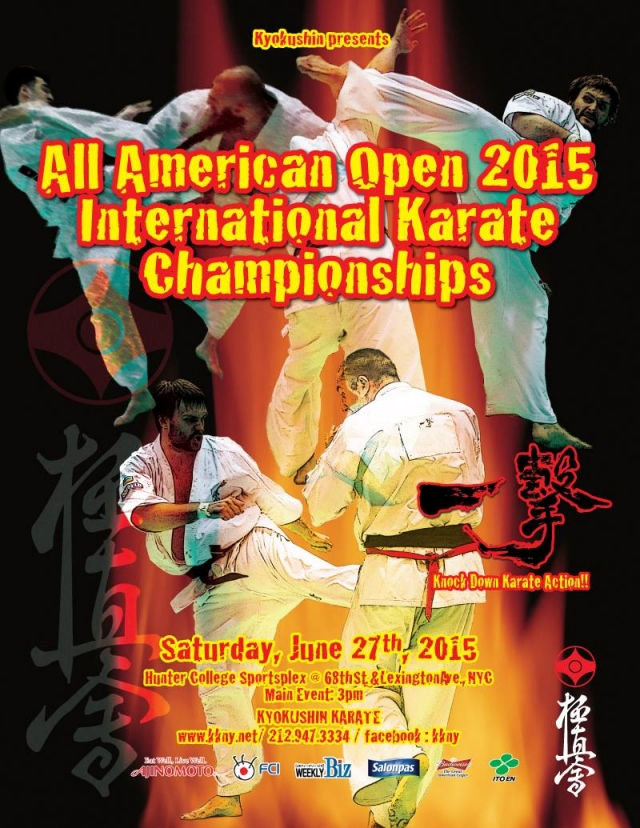 All American Open 2015 International Karate Championships