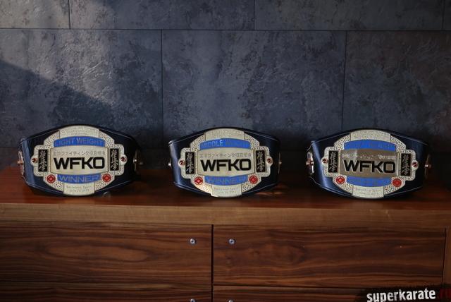 Пояса WFKO Grand Prix Barcelona