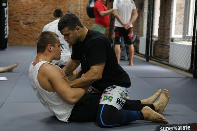 Андрей Чирков и Лаша Габараев