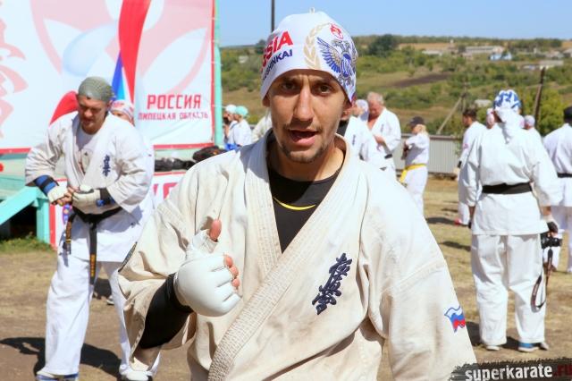Артур Крымов - сильнейший легковес России в кекусинкай