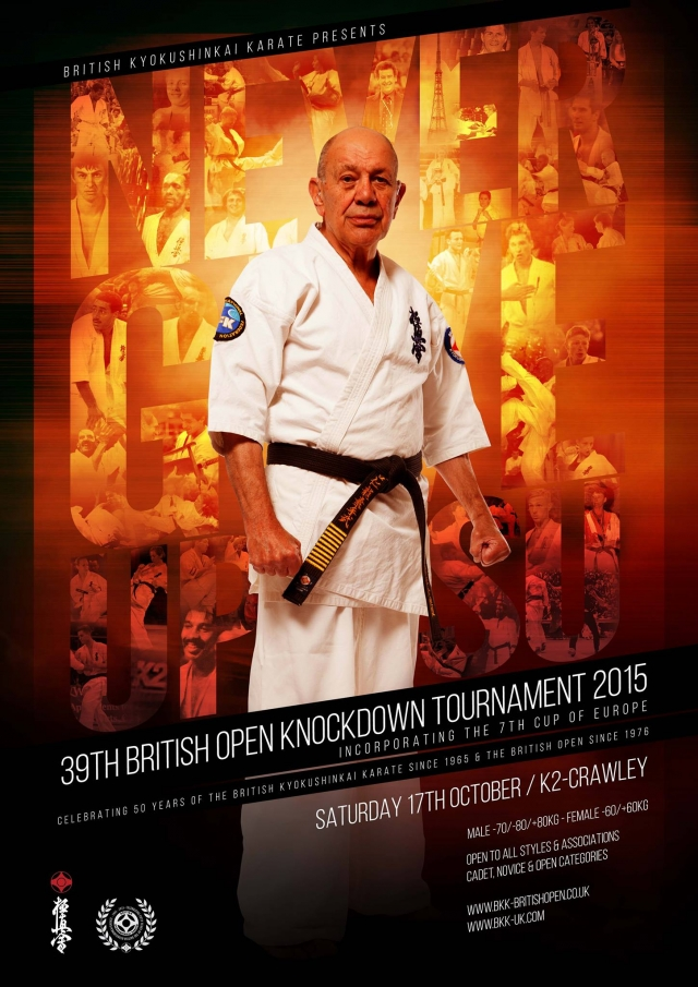 39th British Open Knockdown Tournament 2015