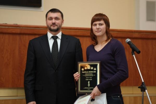 Мария Панова победительница номинации Нокаут года