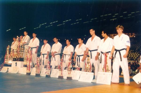 Питер Смит на Открытом Чемпионате Японии по каратэ киокушинкай