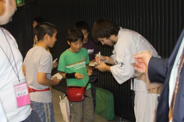 У Тариела в Японии есть свои фанаты и болельщики
