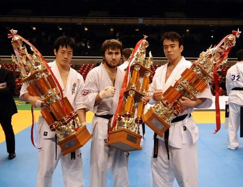 Призеры 42-го абсолютного Чемпионата Японии