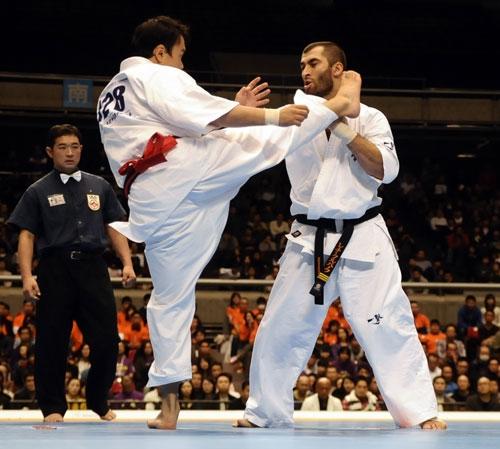 Кентаро Танака и Лечи Курбанов на Чемпионате Японии