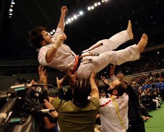Чемпион Японии Тариел Николеишвили