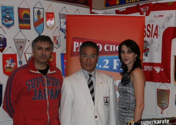 Игорь Рязанцев, Хацуо Рояма и Ольга Ларина