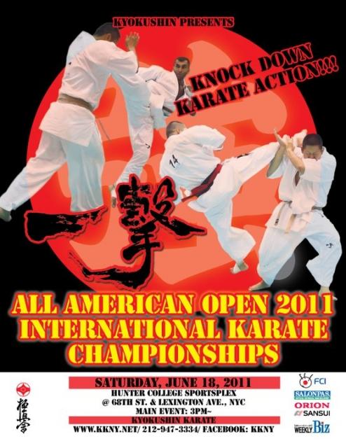 Открытый Чемпионат Америк по каратэ киокушинкай