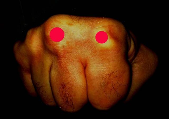 Как сделать себе большие кулаки 804