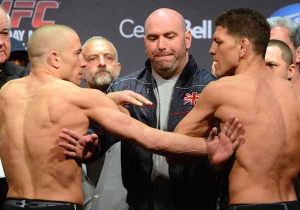 UFC 158 » Каратэ киокушинкай в мире единоборств