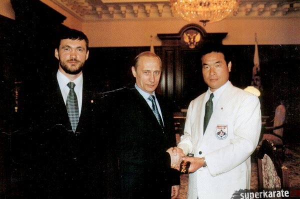 Интервью Шихана Роямы журналу «WORLD KARATE» - 2001 год
