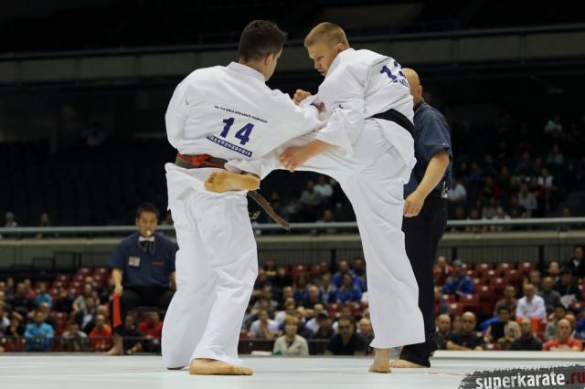 Андрей Лузин на 11 Чемпионате мира