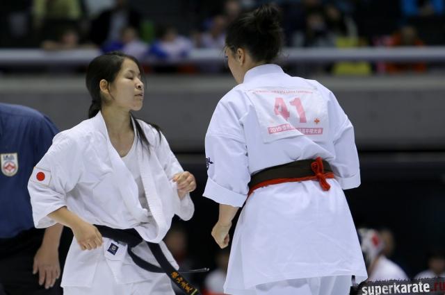 Женщины киокушина
