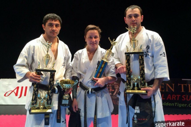 Победители 12th U.S. Weight Category Karate Championships