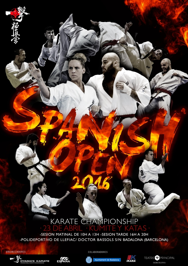 Spanish Open Karate Championship 2016