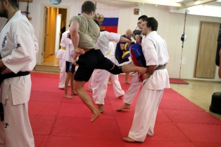 Короткое уширо в ближнем бою от сэнсея Андрея Чиркова
