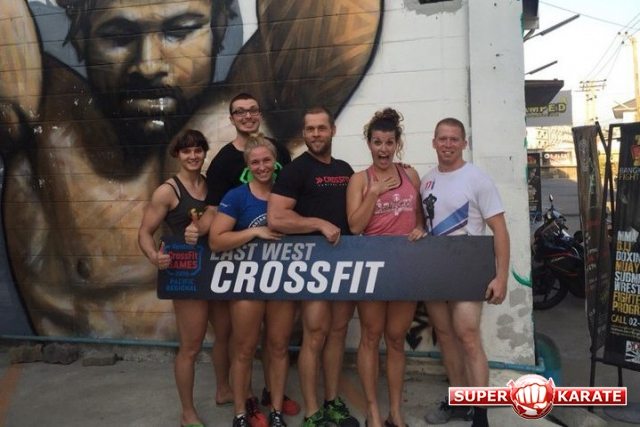 Елена Гулько в «Reebok Crossfit Games 2016» в команде «East west crossfit»