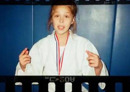 В детстве Ронда Роузи комплексовала из-за своей внешности