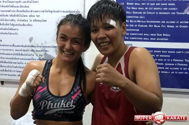 Сэнсей Дилшода Умарова одержала очередную профессиональную победу в ринге