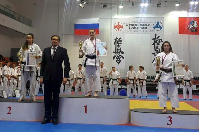 Результаты XIV Открытого чемпионата России по Кёкусин-кан