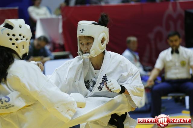 Результаты первого дня Открытого Чемпионата Азии по киокушин-кан