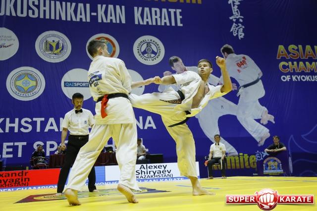 Результаты Открытого Чемпионата Азии по киокушин-кан