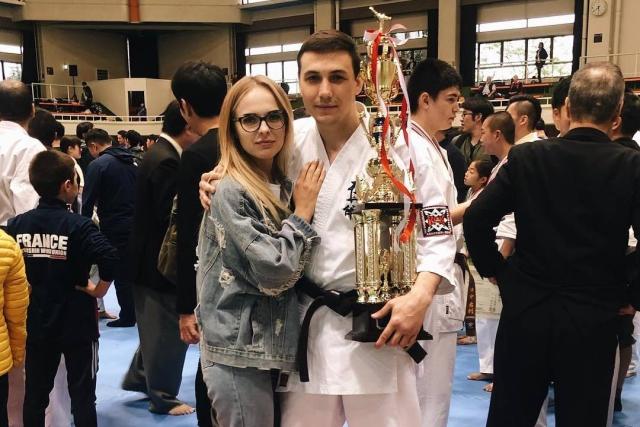 Соловьёв Артём - трехкратный чемпион Японии по кекусин-кан