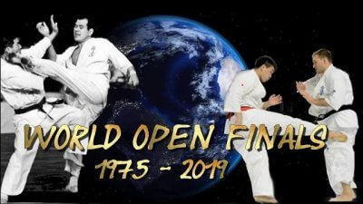 The Kyokushin World Open Tournament Finals 1975-2019