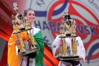 Церемония награждения Чемпионата мира KWU (Женщины)