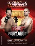 UFC Fight Night 34 - Ellenberger vs. Saffiedine