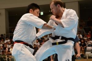 Финальный бой 31 Чемпионата Японии по киокусинкай